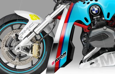 BMW R1200R DragBike