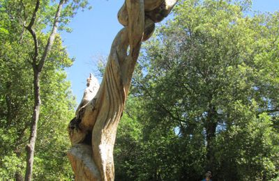 Sentier sculpturel de Mayronnes, un an déjà !