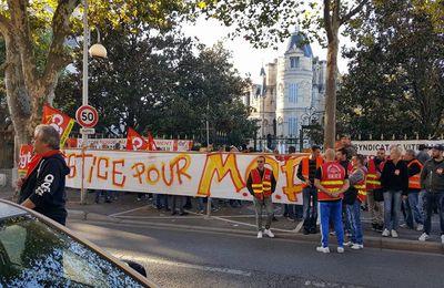 Solidarité avec les copains de MOP