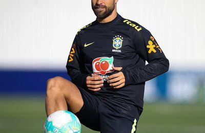 Diego Ribas forfait pour les deux matchs de la Seleçao