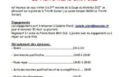 INVITATION COURSE LA TRINITE SURZUR