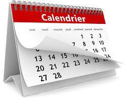 PSE Infos : calendrier