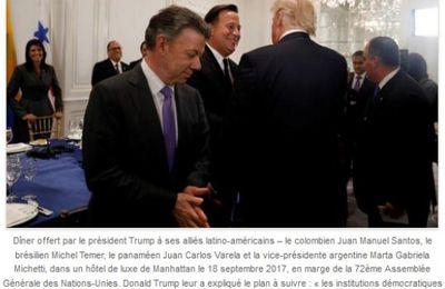 Les clefs cachées du discours de Trump contre le Venezuela