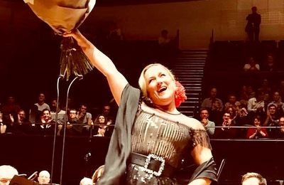3 octobre 2017 - Diana Damrau à la Philharmonie de Paris.