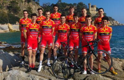 OCCITANE CYCLISME FORMATION  NATIONALE 1
