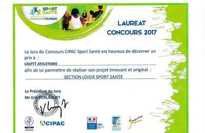 ASPTT lauréat du concours CIPAC 2017