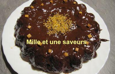 Gâteau aux châtaignes et sa crème anglaise