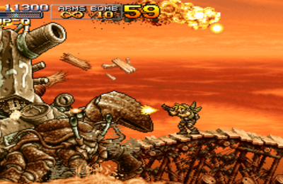 J'ai rejoué à Metal Slug 3...  sur Switch !