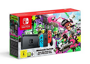 La Nintendo Switch Splatoon 2 en préco !