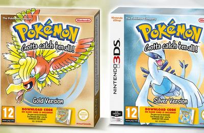 Pokemon Or/Argent en boite sur 3DS ! Heu enfin presque...