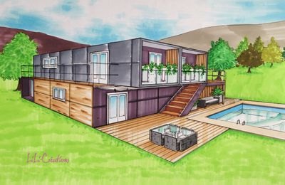 Maison container avis interesting construire une maison for Avis maison container