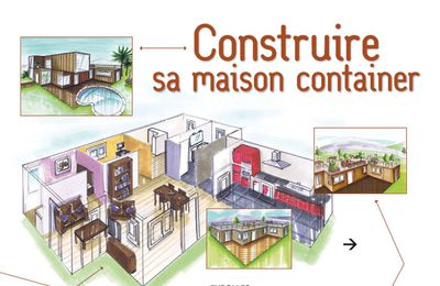 Maison container simple