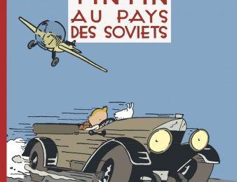 Tintin au pays des Soviets prend des couleurs