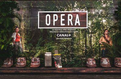 """A l'occasion de la nouvelle série """"uyane"""", Canal+ transforme une station de métro en jungle"""