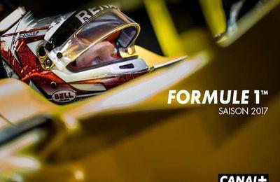Coup d'envoi de la saison 2017 de Formule 1 sur les antennes de Canal+