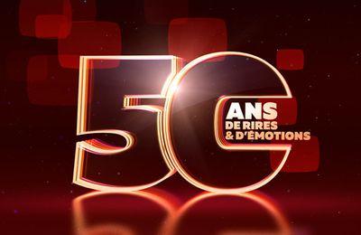 Michel Drucker et Thomas Thouroude fêtent les 50 ans de la télévision en couleur ce soir sur France 2