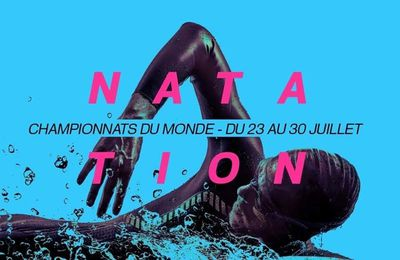 Le programme TV des Championnats du Monde de natation du vendredi 28 juillet sur France 2 et France 4