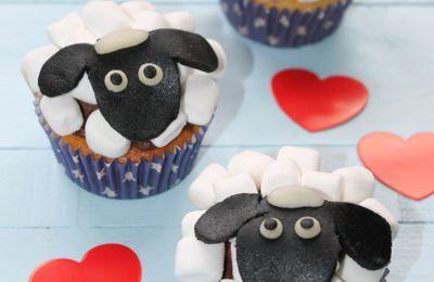 Cupcakes Shaun le Mouton (Spécial Enfants)