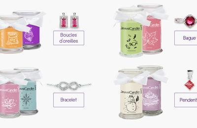 [IDEES CADEAUX ] Les bougies-bijoux Jewel Candle