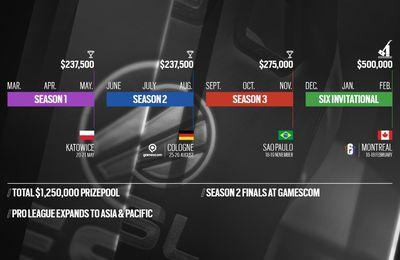 La Pro League de Tom Clancy's Rainbow Six Siege arrive en Asie-Pacifique pour la Saison 3 dès septembre