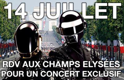 Exclu Daftworld ! Daft Punk dans la playlist du défilé du 14 Juillet