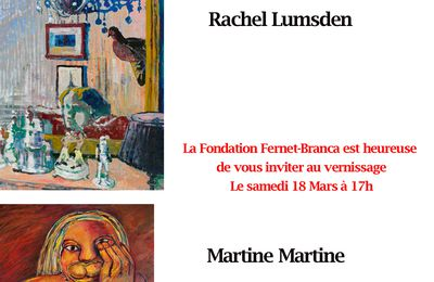 invitation vernissage Fondation Fernet-Branca