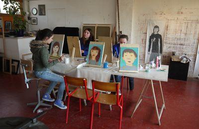Niort : Ateliers dessin/peinture pour enfants,ados et adultes avec Olivier Le Nan