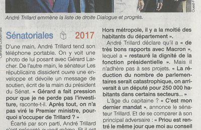 21 septembre / Article Ouest France suite à conférence de presse