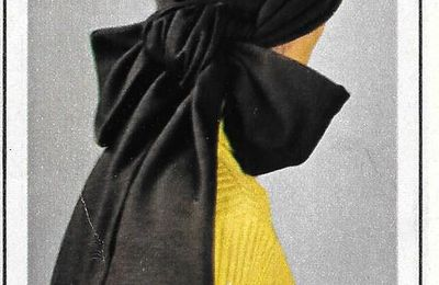 Turban et fanchon en tissu