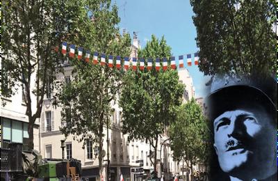 Hommage au général Leclerc, le 8 octobre à Paris.