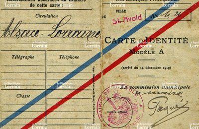 GUERRE 1914-18 Les commissions de triage de la population en Alsace-Moselle en 1918 (article du journal Le Républicain Lorrain du 05/04/2017)