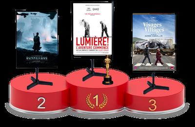 Top Films 2017 : classement du mois d'août