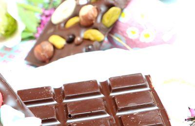 | Tablettes au chocolat déguisées | Où comment faire un bon tempérage du chocolat