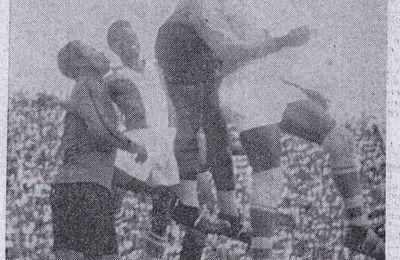 Exclusif : Des images du fameux match V.Club-Mikado (1-3), à l'origine des émeutes du 4 janvier 1959 à Léopoldville.