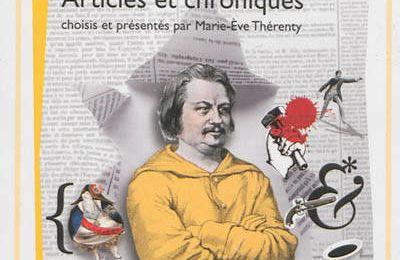 Balzac journaliste, articles et chroniques