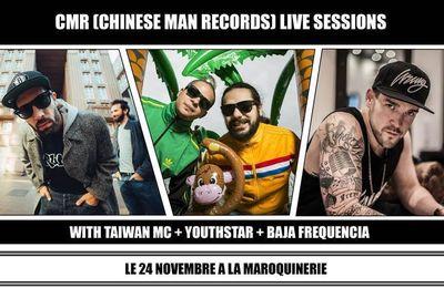 CMR Live Sessions le 24 novembre à la Maroquinerie! / CHANSON MUSIQUE / ACTUALITE