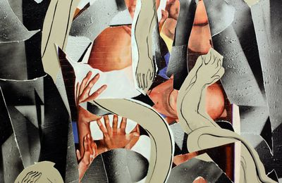 "Expo Peinture Contemporaine: Laurent PROUX ""Line-off ceremony"""