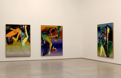 "Expo Peinture Contemporaine: Daniel RICHTER  ""Le Freak """