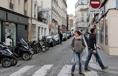 Rue Constance. Montmartre.