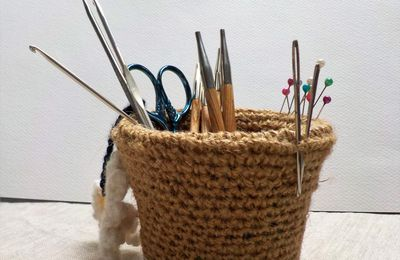 the serial crocheteuses & more n° 368 : un vide-poche
