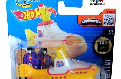 THE BEATLES YELLOW SUBMARINE HOT WHEELS 1/64