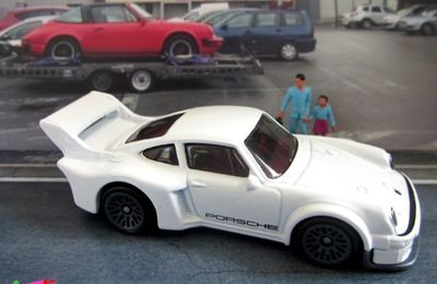 PORSCHE 934.5 HOT WHEELS 1/64
