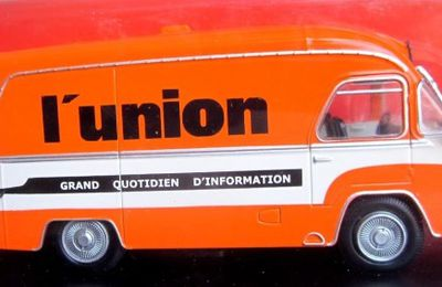 FASCICULE N°32 RENAULT GALION JOURNAL L'UNION IXO 1/43