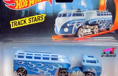 CUSTOM VOLKSWAGEN HAULER - VW COMBI HOT WHEELS