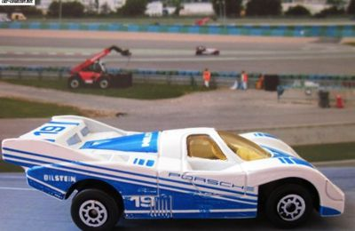 PORSCHE 956 LE MANS 1981 MC TOY 1/64
