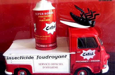 FASCICULE N°38 RENAULT ESTAFETTE INSECTISIDE CATCH IXO 1/43