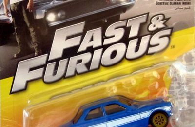 FORD ESCORT RS 1600 MK1 1970 FAST AND FURIOUS 6 MATTEL 1/55