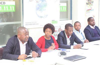 Bruxelles : séance d'information entre la société civile congolaise et la plate-forme CNCD/11.11.11