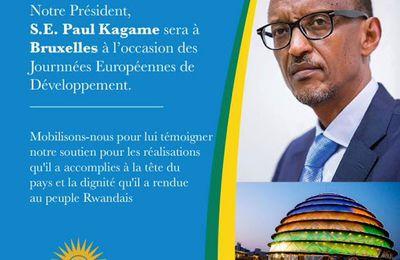 Paul Kagame à Bruxelles, deux semaines après Donald Trump