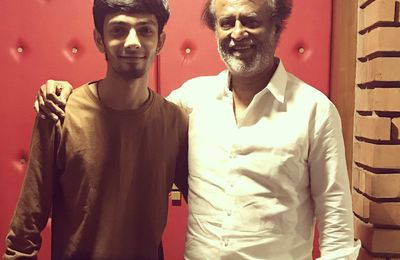SUPERSTAR RAJNIKANTH & ANIRUDH